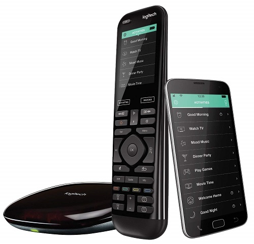 Logitech Harmony Elite Advanced Remote Control, Hub and App