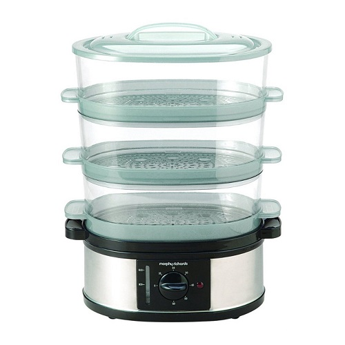Morphy Richards 3 Tier Food Steamer 48755