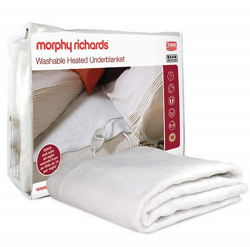 Morphy Richards Washable Heated Electric Blanket