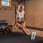NAYOYA Gymnastic Rings Workout Set with Adjustable Straps