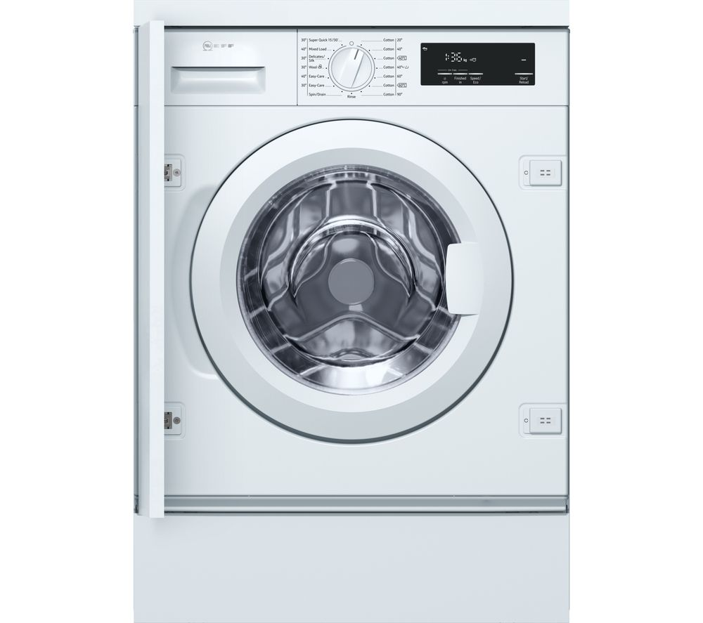 NEFF W543BX0GB Integrated Washing Machine