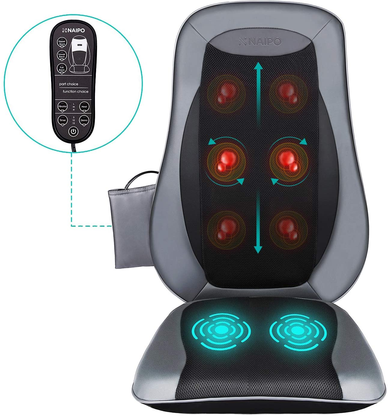 Naipo Shiatsu Back Massager