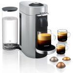 Nespresso Vertuo Plus 11386 Coffee Machine by Magimix, Silver