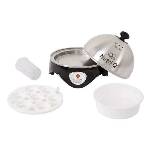 Nutri-Q 34360 Healthy Eating Egg Boiler with Poaching Tray