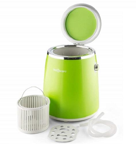 OneConcept Ecowash-Pico Mini Washing Machine