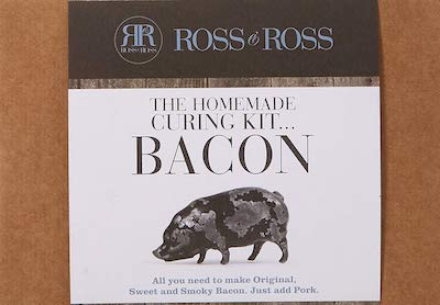 ROSS & ROSS FOOD Homemade Curing Kit, Bacon Original