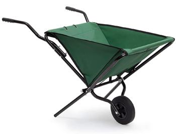Relaxdays Foldable Wheelbarrow