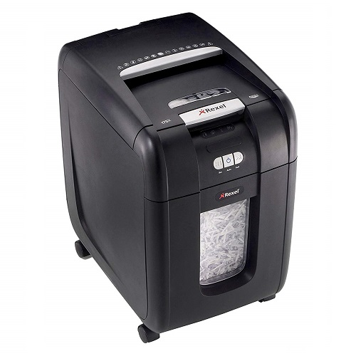 Rexel Auto+ 175X Cross-Cut Paper/CD/Credit Card Shredder