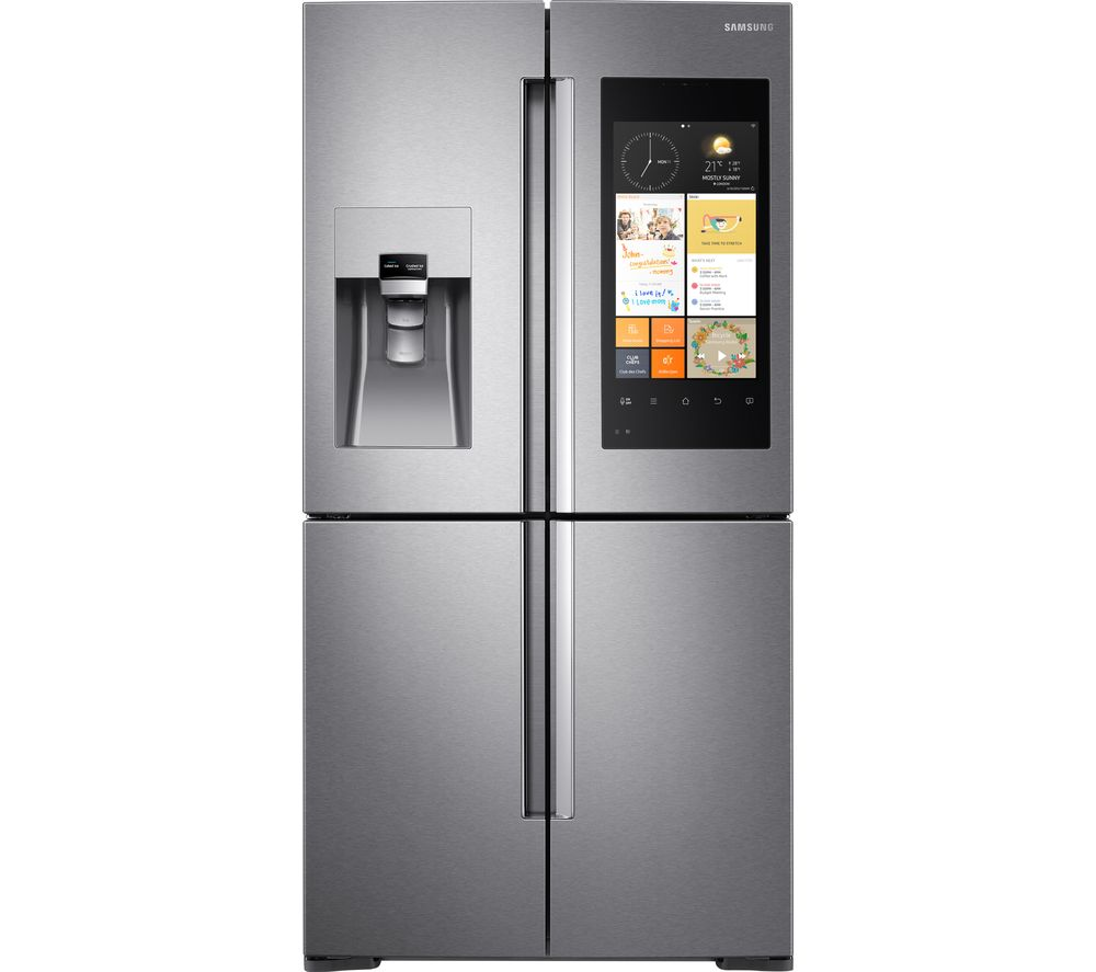 What Is An American Fridge Freezer Part - 29: Samsung Family Hub American Style Fridge Freezer Review