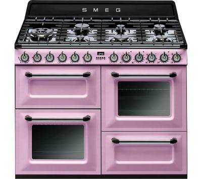 SMEG TR4110RO 110cm Dual Fuel Cooker