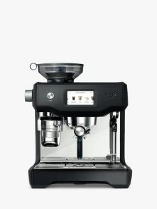 Sage Oracle Touch Fully Automatic Bean-to-Cup Coffee Machine, Black Truffle
