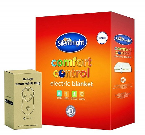 Silentnight Smart Alexa Comfort Control Electric Blanket