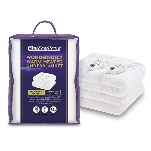 Slumberdown Wonderfully Warm Electric Blanket