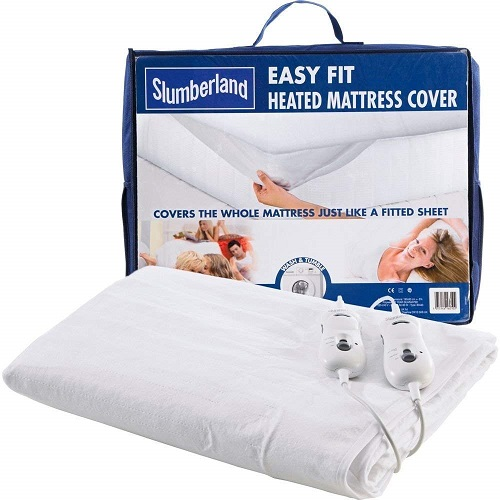 Slumberland Easy Fit Heated Mattress Cover