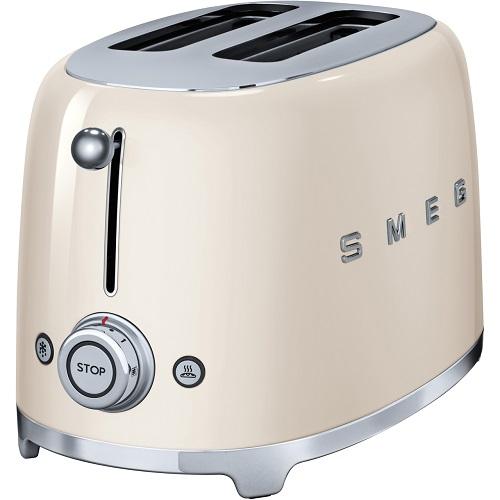 SMEG 50's Retro TSF01WHUK 2 Slice Toaster