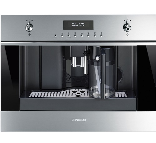 SMEG Classic CMS6451X Built In Bean to Cup Coffee Machine