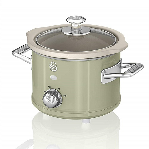 Swan SF17011GN Retro Slow Cooker