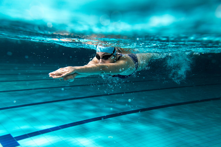 Swimming or Running to Burn Fat