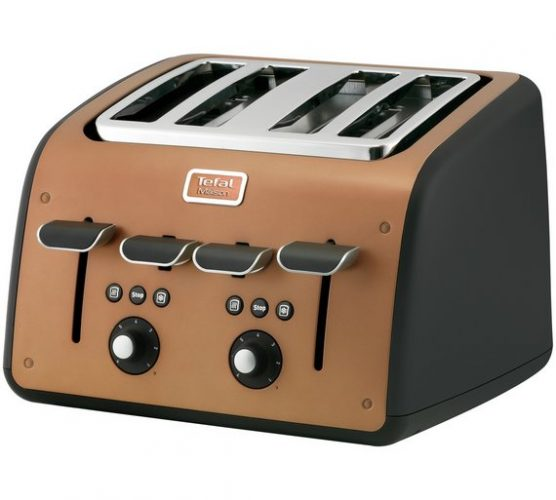Tefal TT770J Maison Four Slice Copper