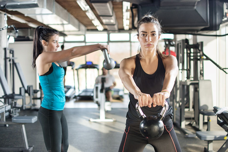 The Best Moves to Use with Kettlebells