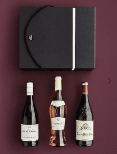 The Connoisseur's Choice Wine Trio Gift Selection