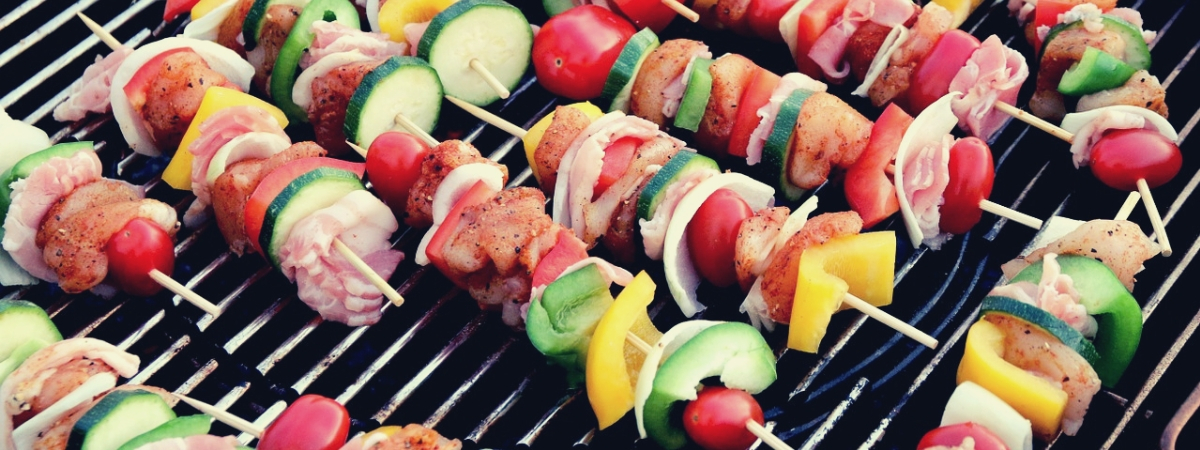 Barbecue Side Dishes Skewers