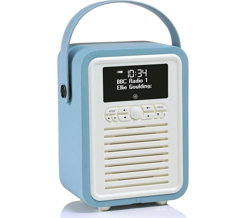 VQ Retro Mini Portable DAB+/FM Bluetooth Radio