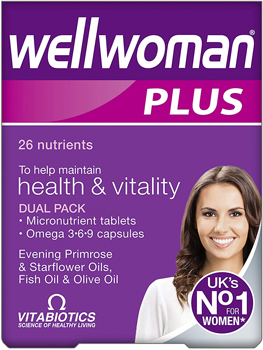 Vitabiotics Wellwoman Plus Omega