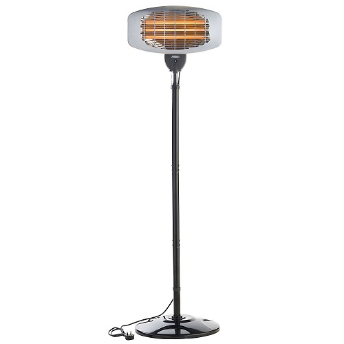 VonHaus Electric Freestanding Patio Heater