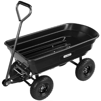 VonHaus Garden Cart Wheelbarrow