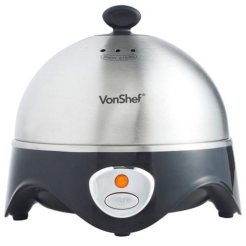 VonShef 3 in 1 Egg Boiler, Poacher and Omelette Maker