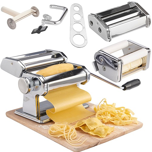 VonShef 5 in 1 Fresh Pasta Maker