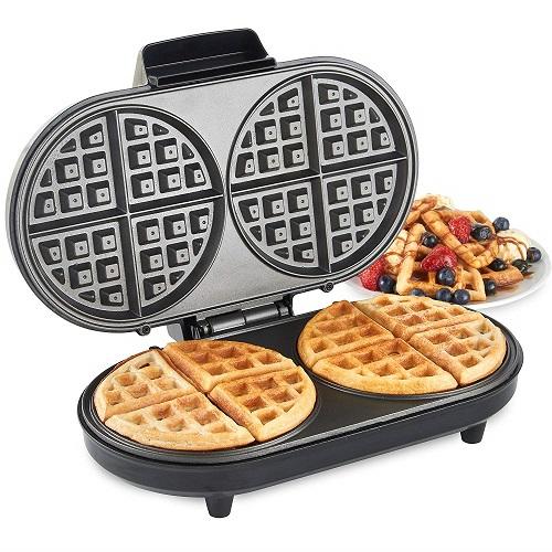 VonShef Round Waffle Maker