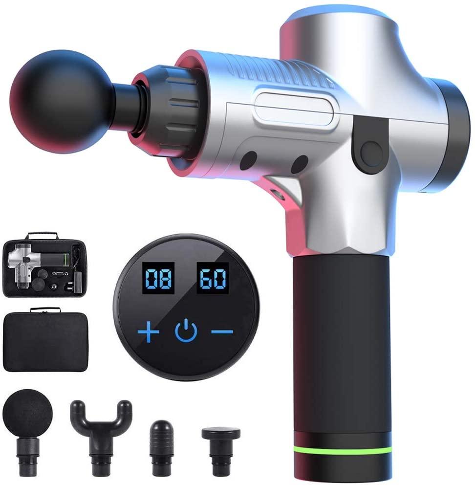 WELTEAYO Handheld Deep Tissue Muscle Massage Gun