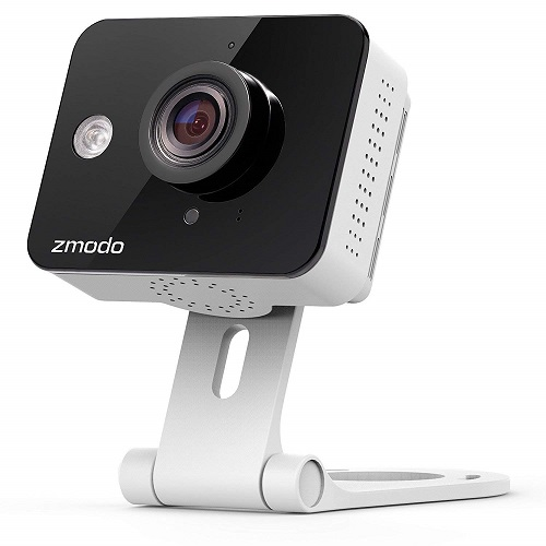 Zmodo True HD Mini WiFi Wireless Wide Angle Indoor Home Video Security Camera