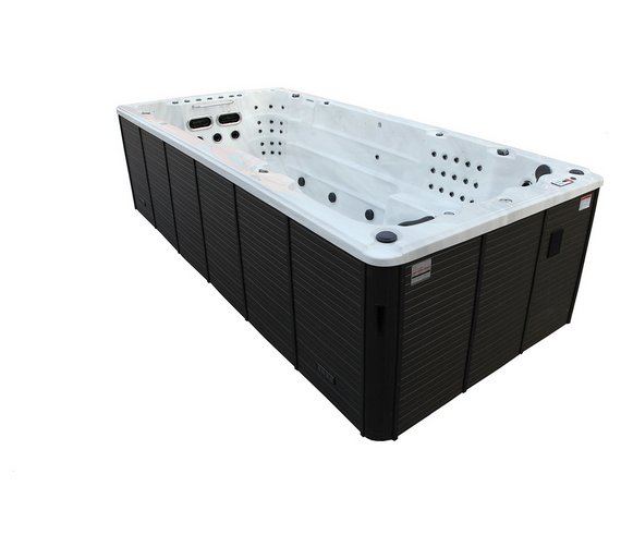 Canadian Spa Co. St Lawrence Deluxe Swim Hot Tub