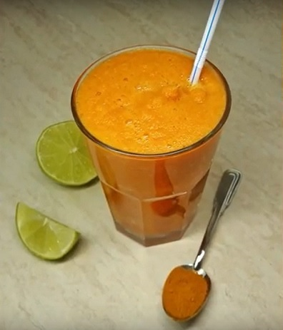 Turmeric Ginger Carrot Juice
