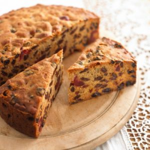 British Fruit Tea Cake