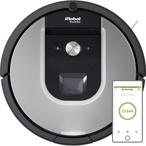 iRobot Roomba 965 Bagless Robotic Vacuum Cleaner