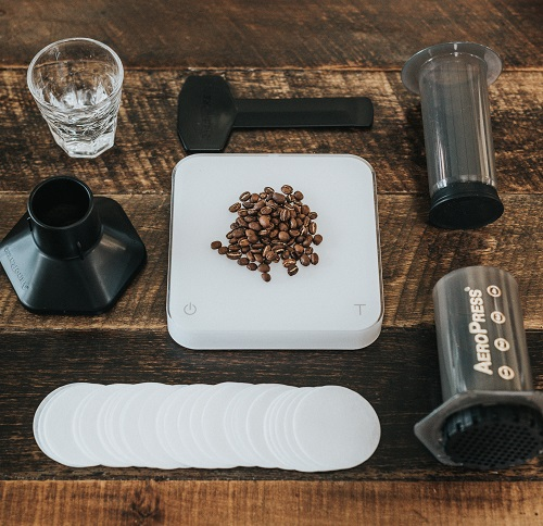 Coffee On Kitchen Scales