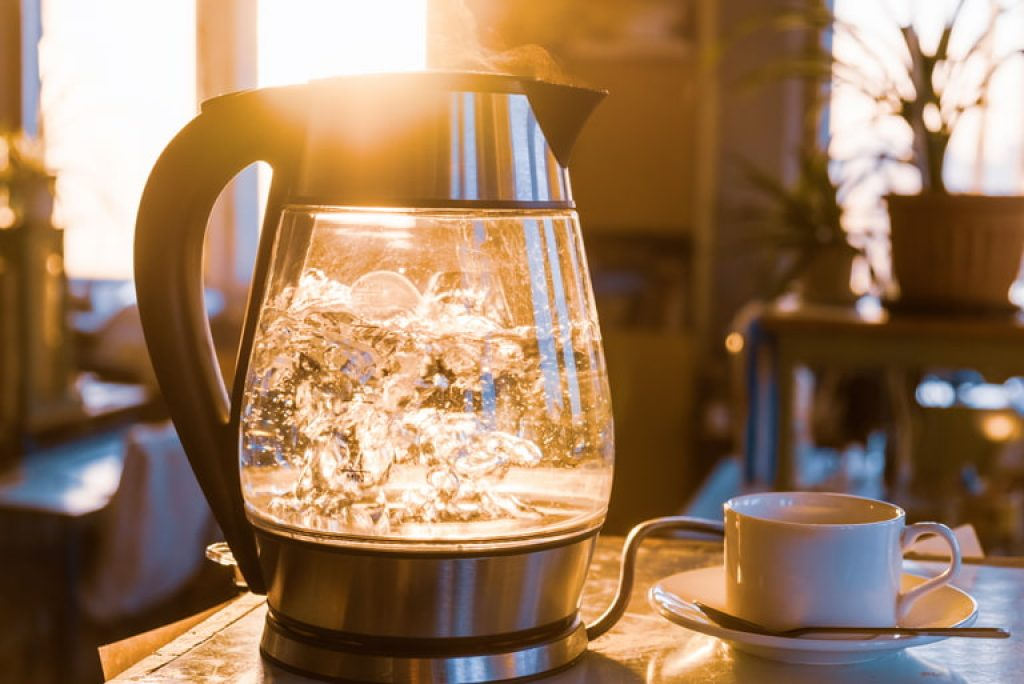 overfilling the kettle results
