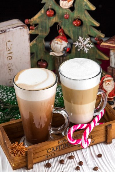 Fancy Christmas Coffees