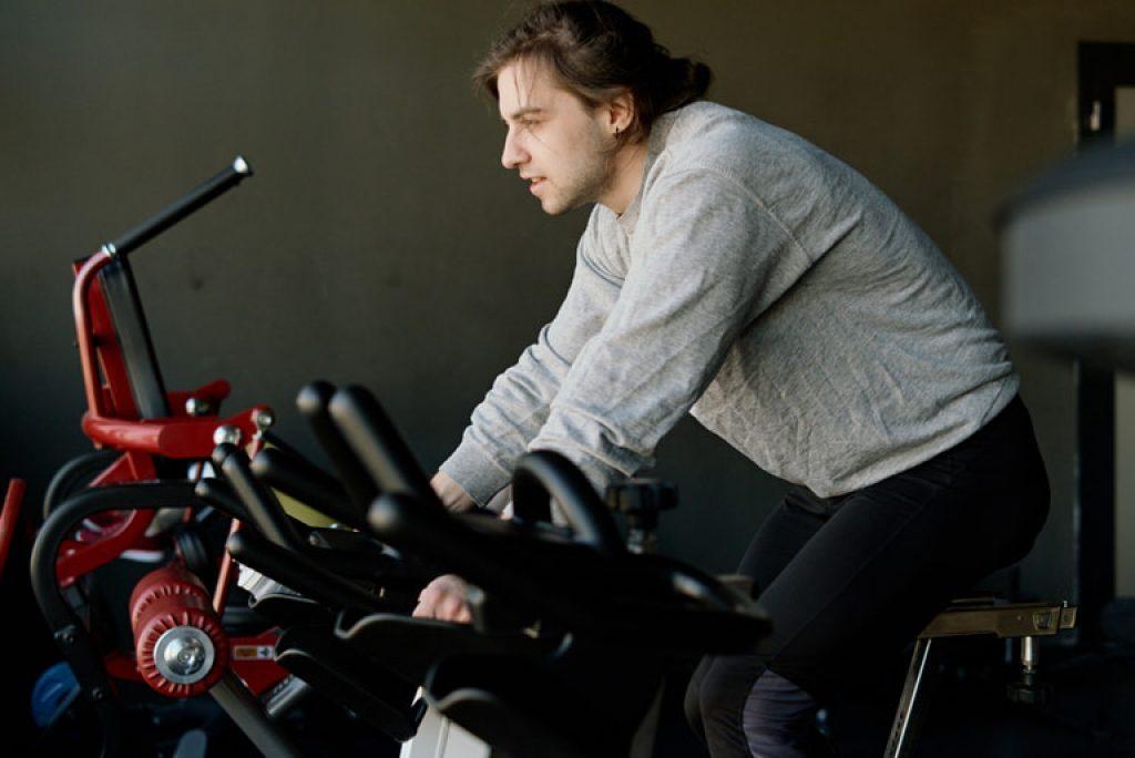 selecting an exercise bike