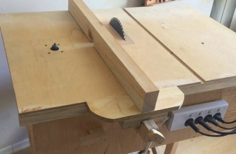 DIY Table Saw: How to Make a Homemade Table Saw?