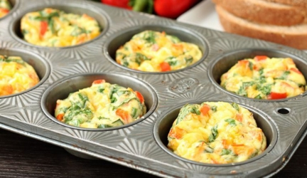 Freezer-Friendly Egg Breakfast Muffins