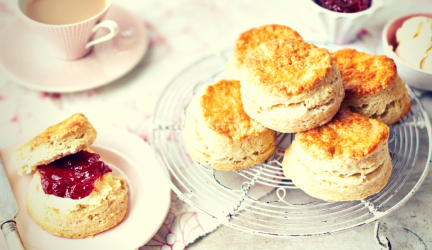 Simple Easy to Make Plain Scones