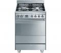 SMEG SUK61PX8 60 cm Dual Fuel Cooker